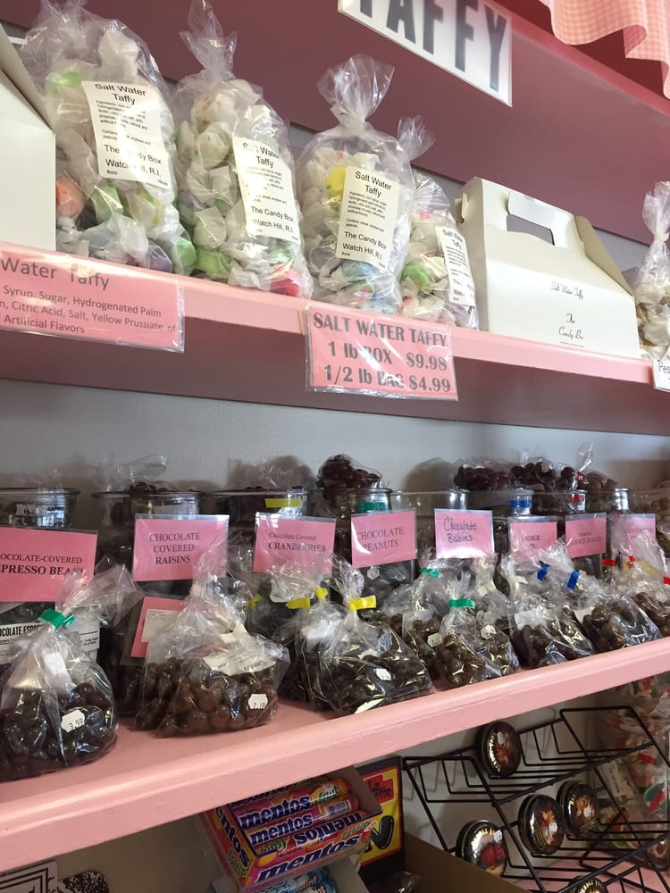 The Candy Box: 14 Fort Rd, Westerly, RI