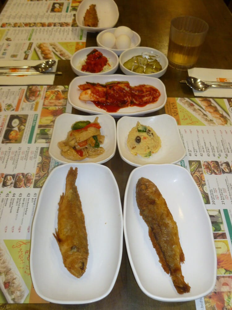 Complementary side dishes my most favorite is the fried for Side dishes for fried fish