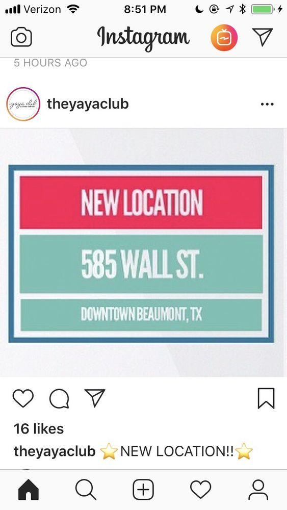 YaYa Club: 585 Wall St, Beaumont, TX