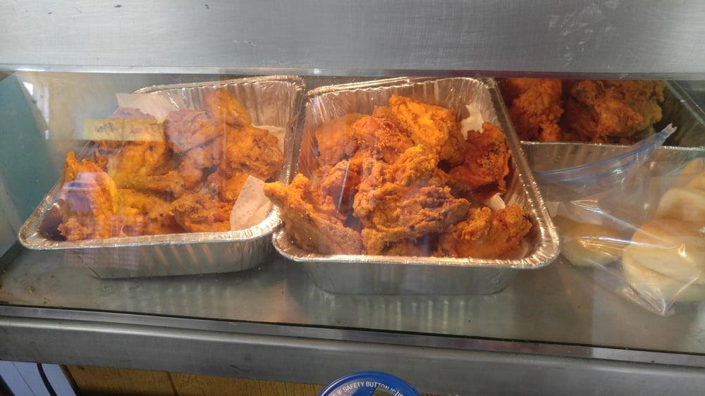 Jaybird's Chicken: 1118 Wisconsin St, Cawker City, KS