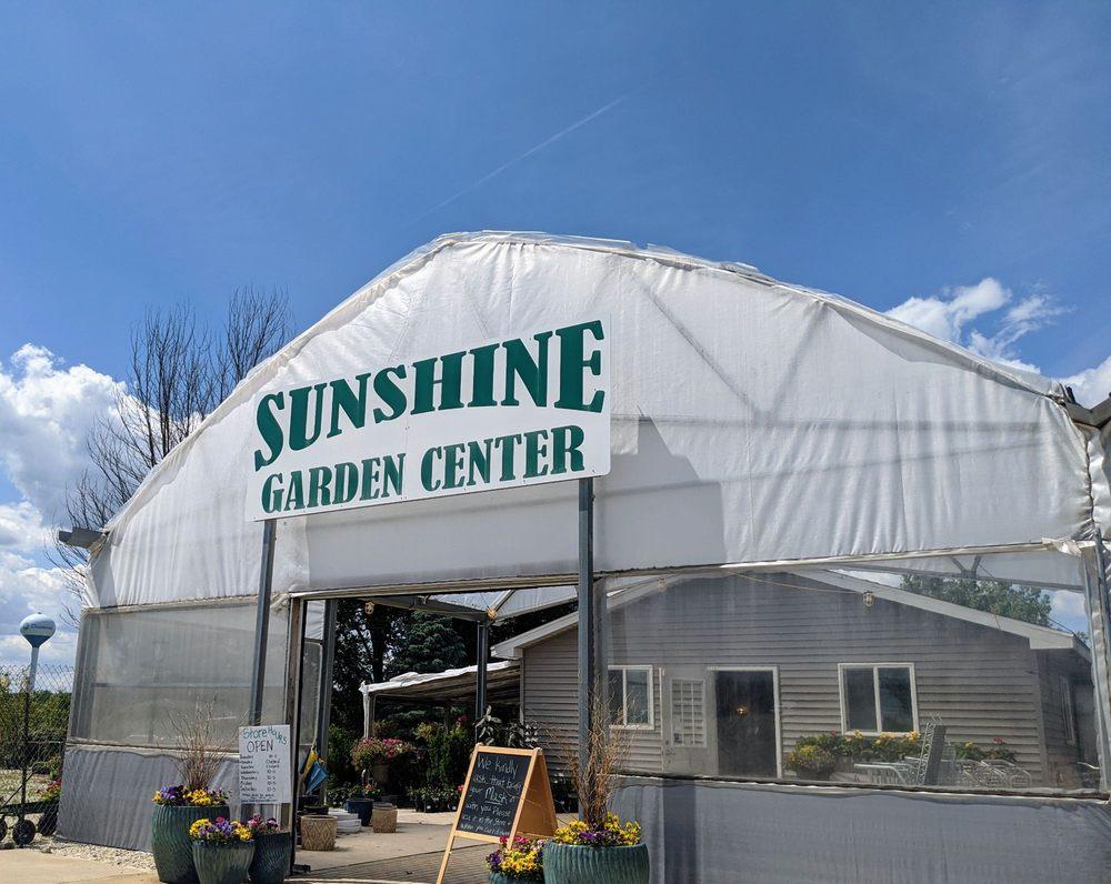 Sunshine Garden Center: 2850 E Division St, Diamond, IL