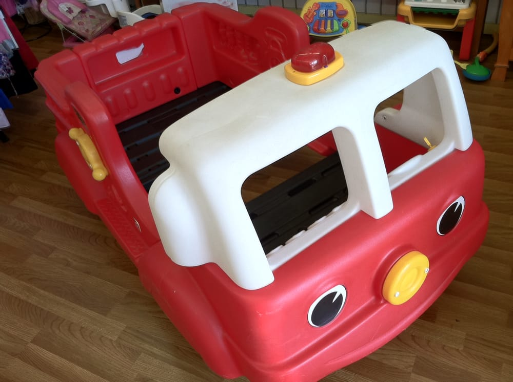Step 2 Fire Truck Toddler Bed