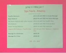 Spa Nail Of Amenia: 8 Old North Rd, Amenia, NY