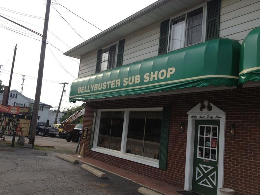 Bellybuster Sub Shop: 6949 Warren-Sharon Rd, Brookfield Center, OH