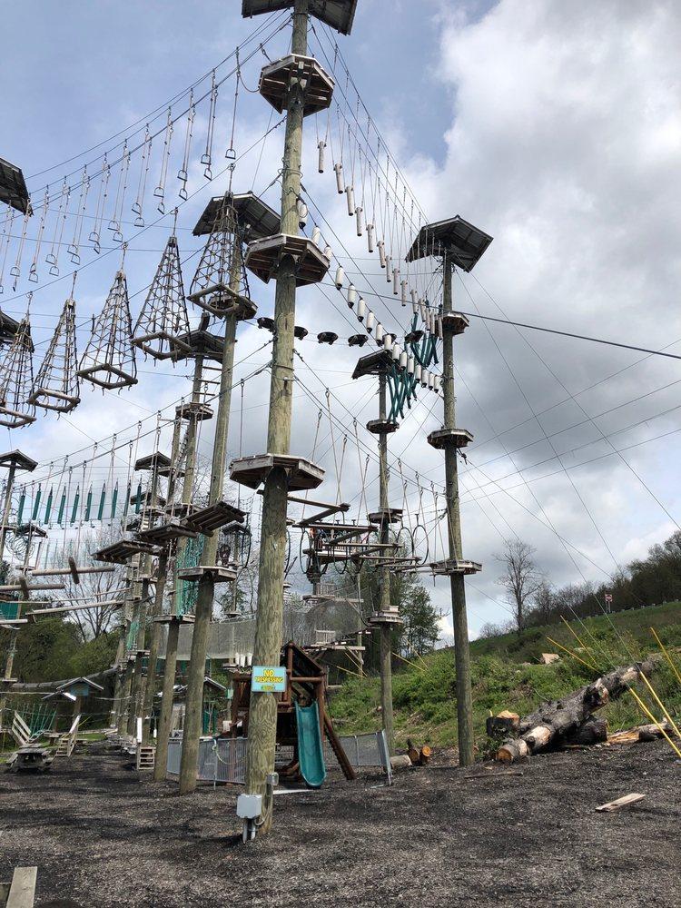 Monkey Business Adventure Park: 970 Deep Creek Dr, McHenry, MD