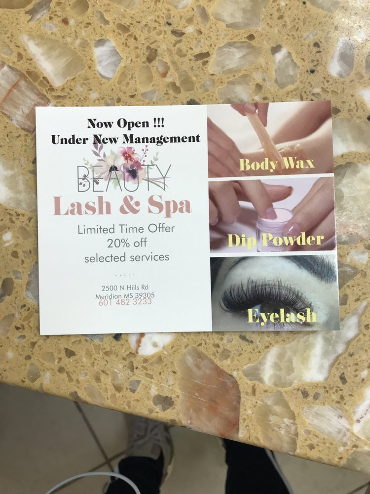 Beauty lash & spa: 2500 North Hill St, Meridian, MS