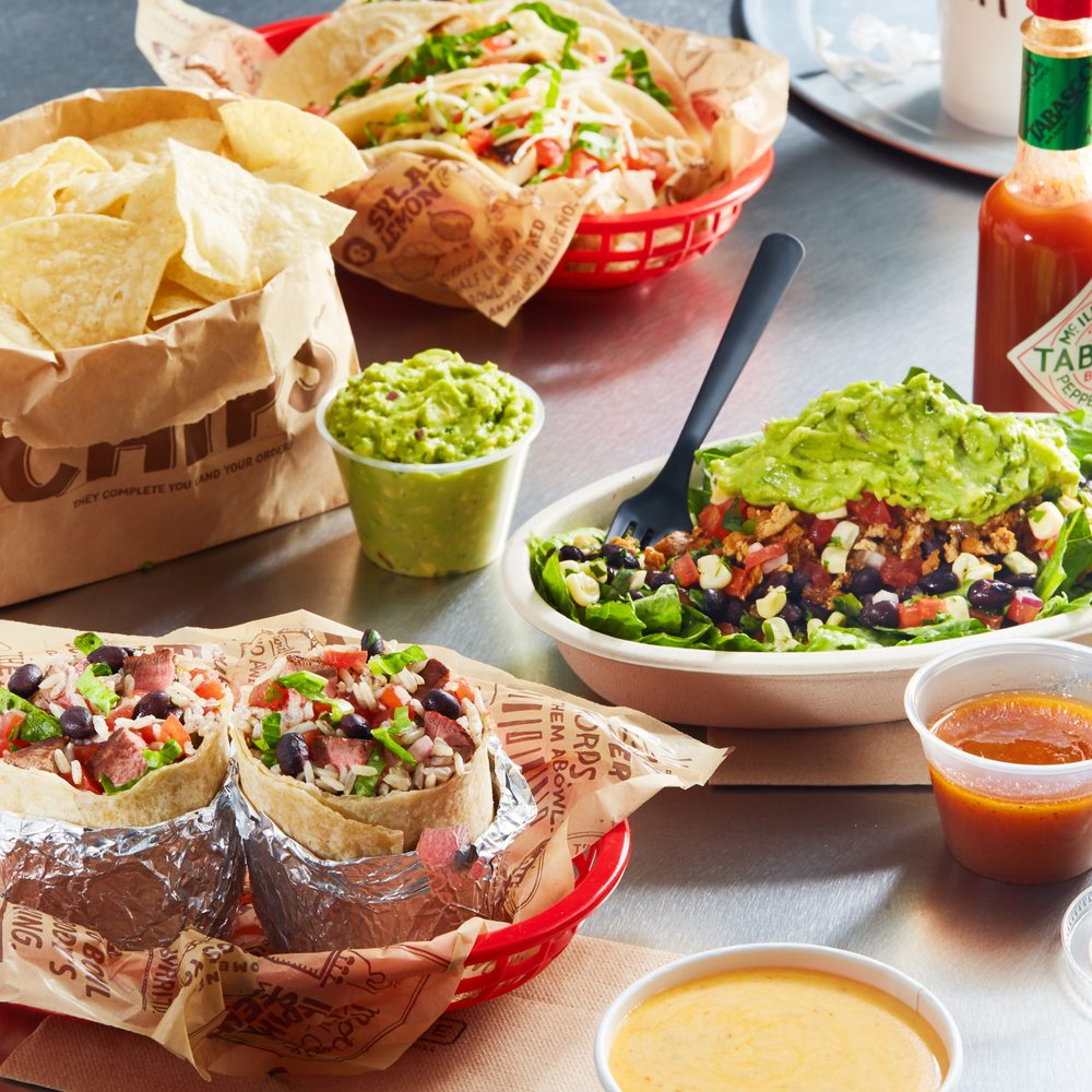 Food from Chipotle Mexican Grill