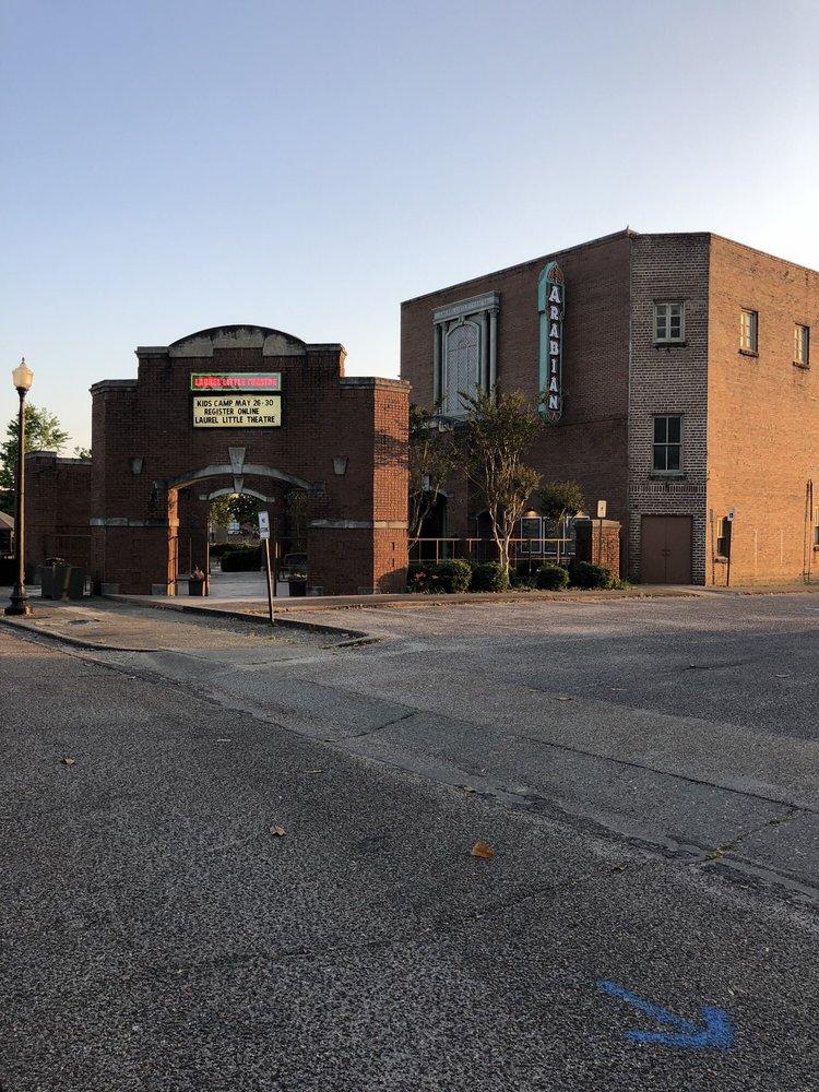 Laurel Little Theatre: Arabian Theatre Lbby, Laurel, MS
