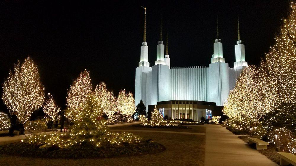 Washington D.C. Temple & Visitors' Center: 9900 Stoneybrook Dr, Kensington, MD