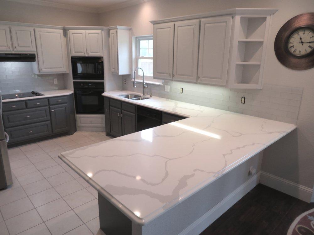 Photo Of DFW Granite   Dallas, TX, United States. Calcatta Quartz  Countertops With