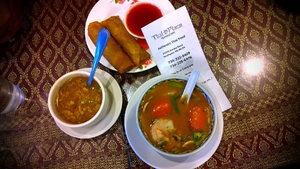 Thai Place: 15230 Eureka Rd, Southgate, MI