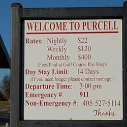 Chandler City RV Park - RV Parks - Chandler Rd, Purcell, OK