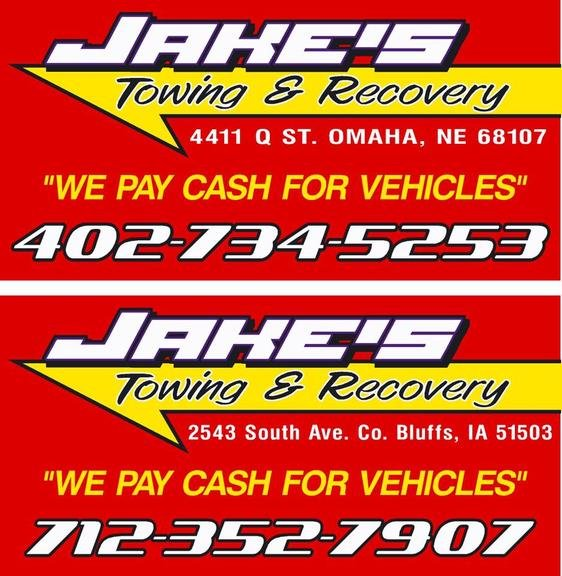 Jake's Towing and Recovery: 15 S 20th St, Council Bluffs, IA