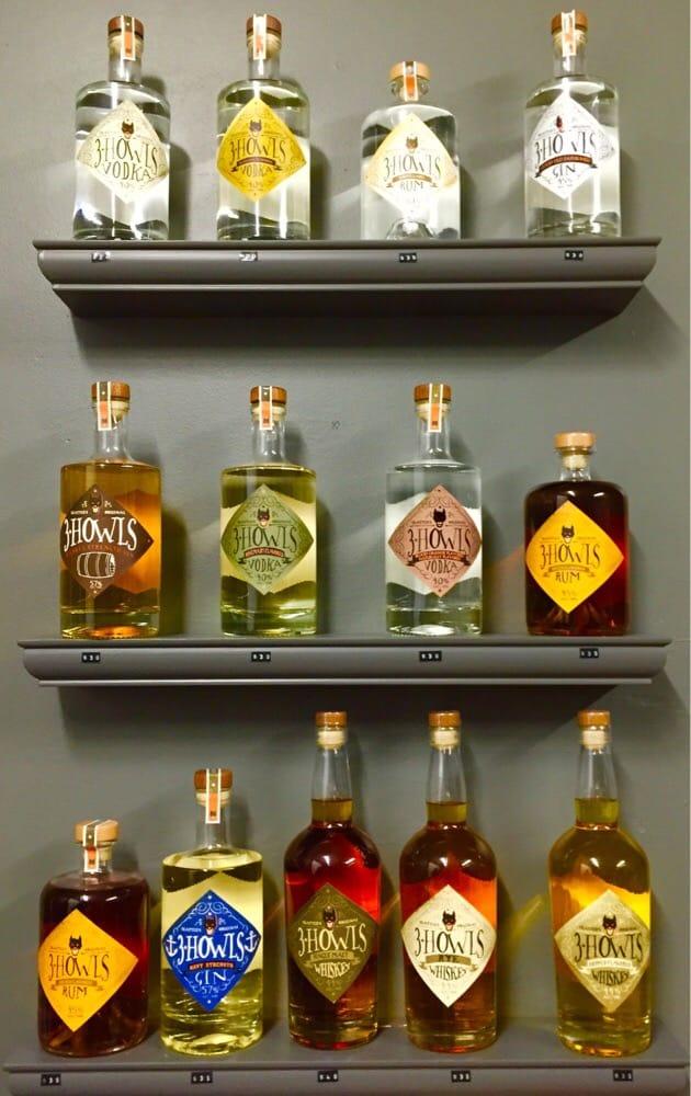 3 Howls Distillery: 426 S Massachusetts St, Seattle, WA