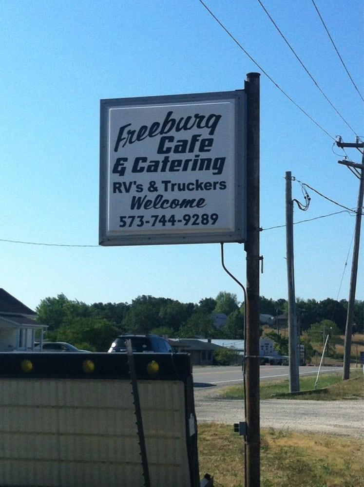 Freeburg Cafe: 408 S Hwy 63, Freeburg, MO