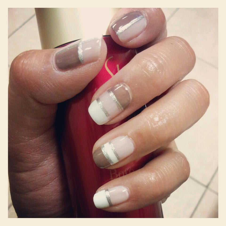 Photo of Color Nails - Northridge, CA, United States. Color Block Nail  Design - Color Block Nail Design - Yelp