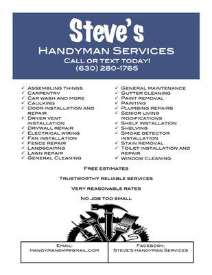 Steve S Handyman Services Gutter Services Batavia