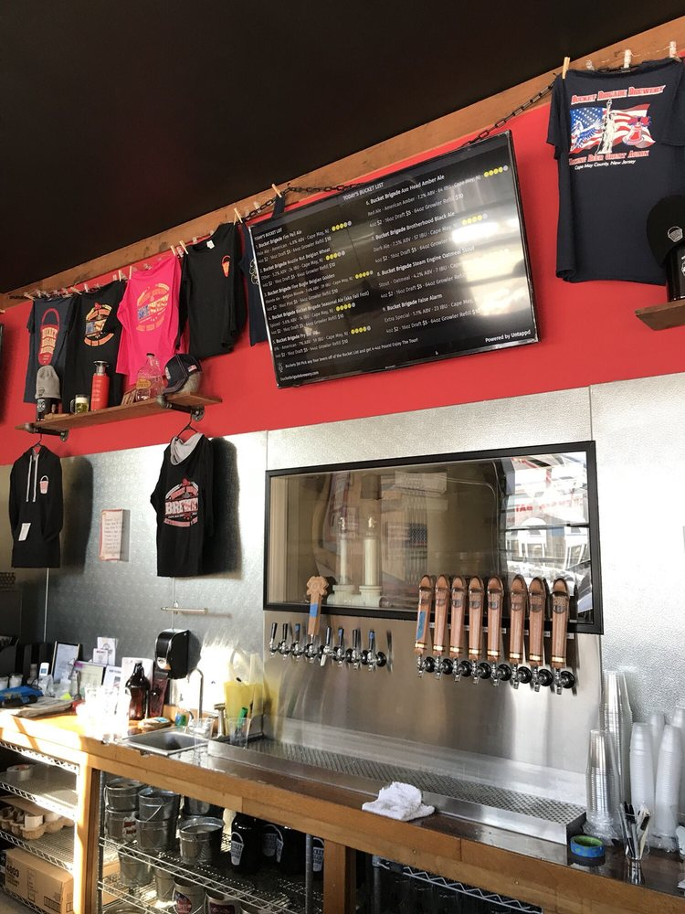Bucket Brigade Brewery: 205 N Main St, Middle Township, NJ