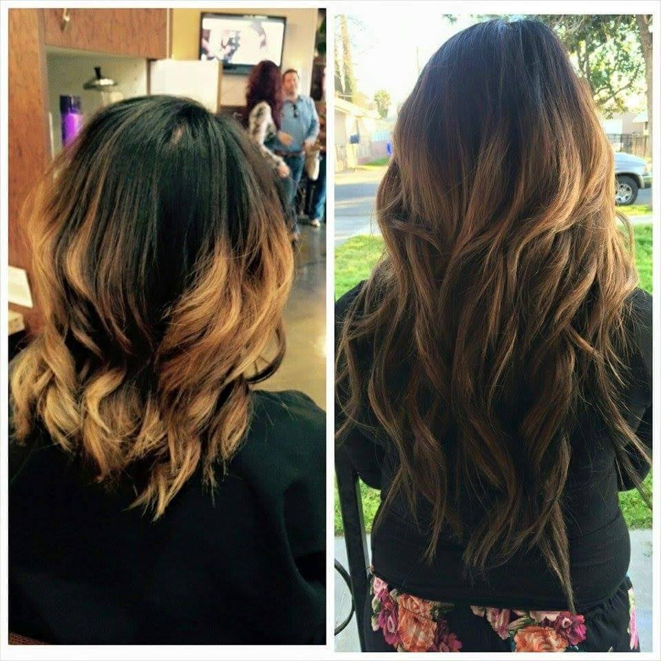 Hair Done By Tera Tullis Color Correction Tape In Hair Extensions