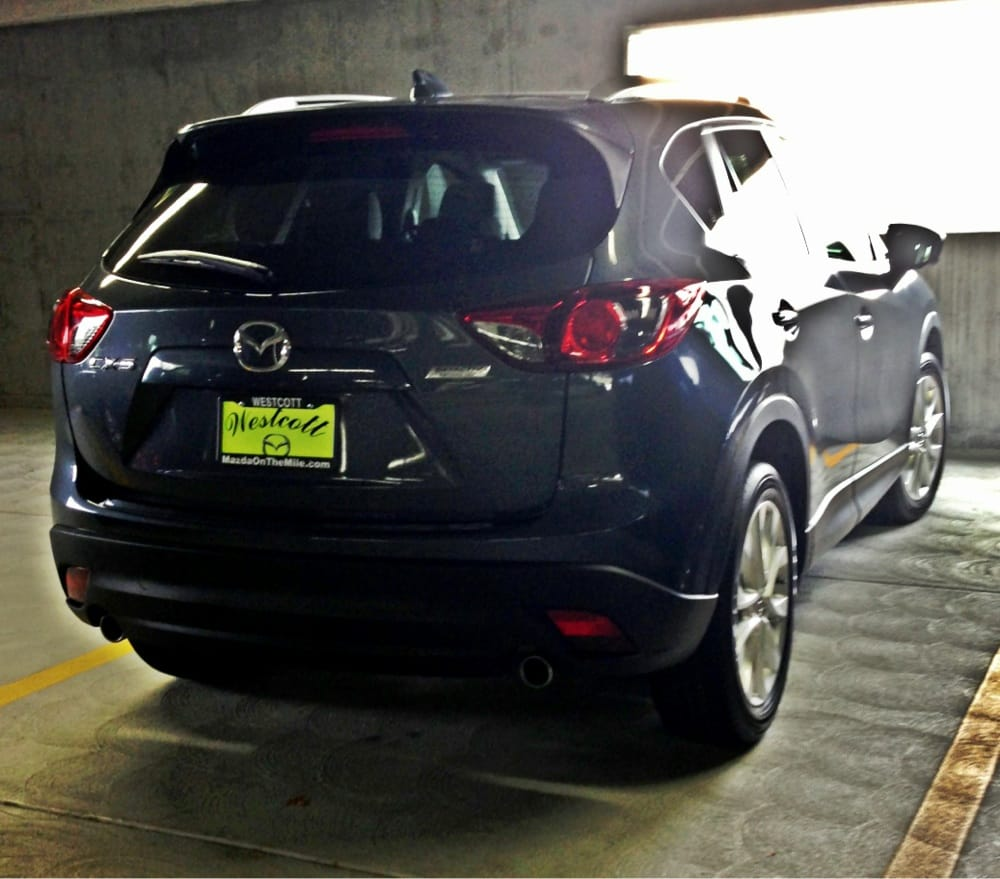 Metropolitan Grey 2013 Cx 5 Grand Touring With Roof Rack