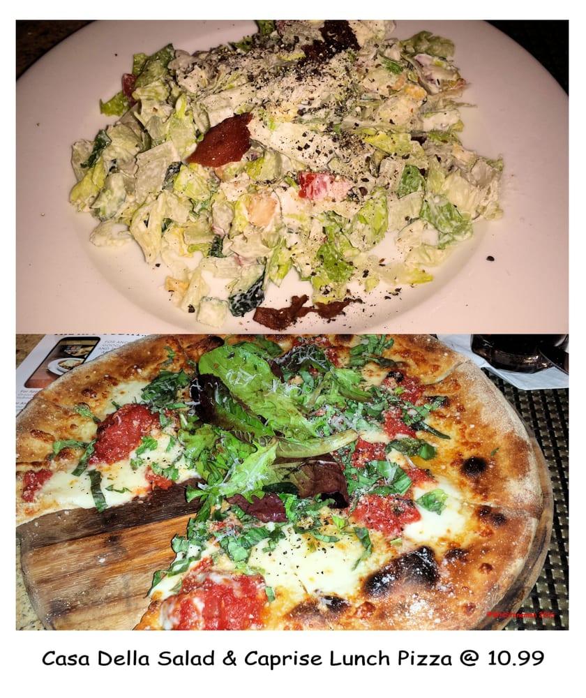 Casa Della Salad W Lunch Pizza Yelp