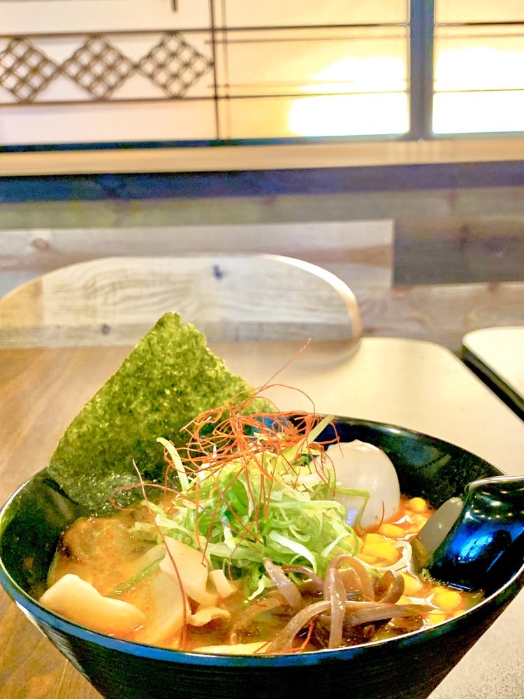 Food from Hero's Ramen X Sushi