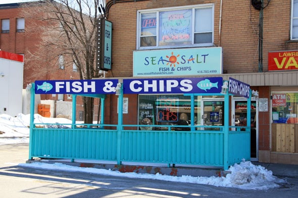 Sea salt fish and chips closed fish chips 699 for Sea salt fish grill