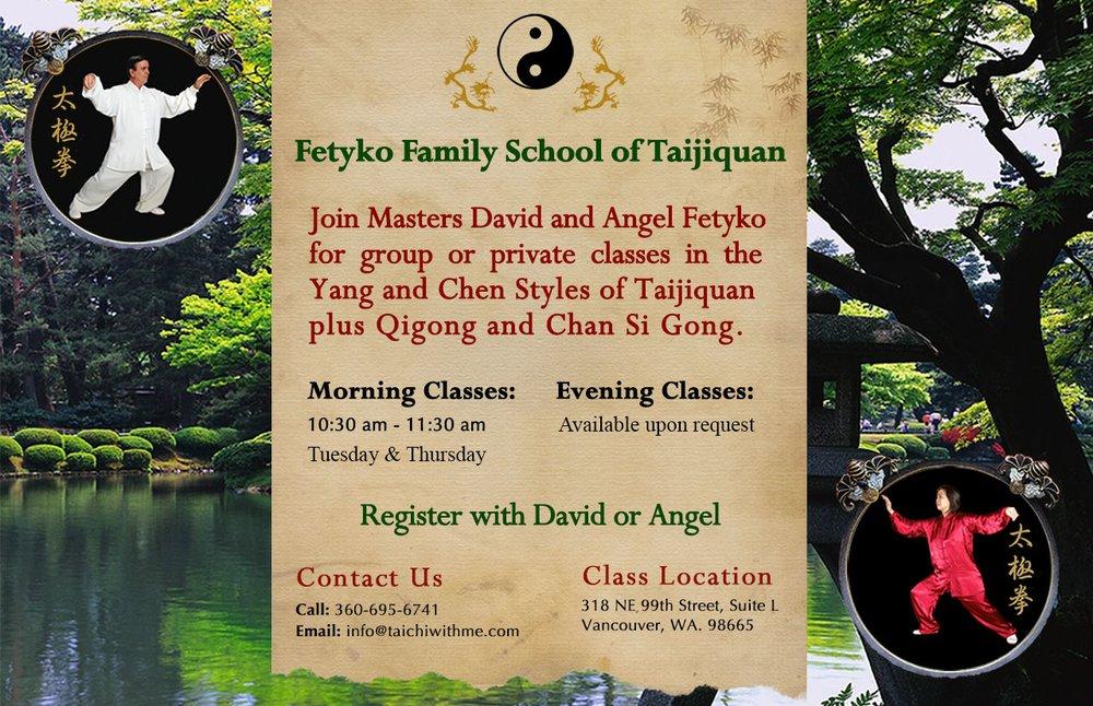 Fetyko Family School of Tai Chi | 318 NE 99th St, Vancouver, WA, 98665 | +1 (360) 695-6741