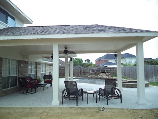 Photo Of All About Patio Covers   Houston, TX, United States. Free Estimates