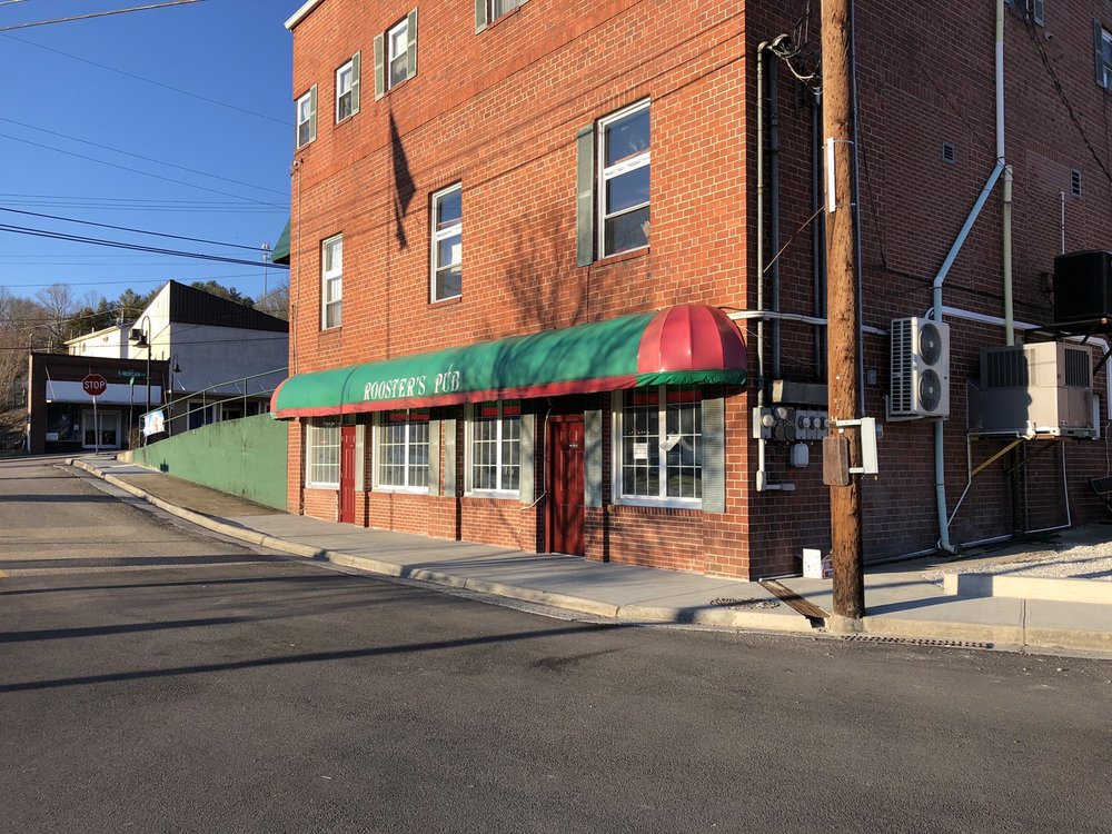 Rooster's Pub: 131 Harrell St, Pennington Gap, VA