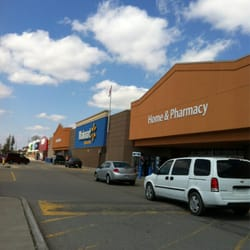 photo of walmart woodstock on canada storefront