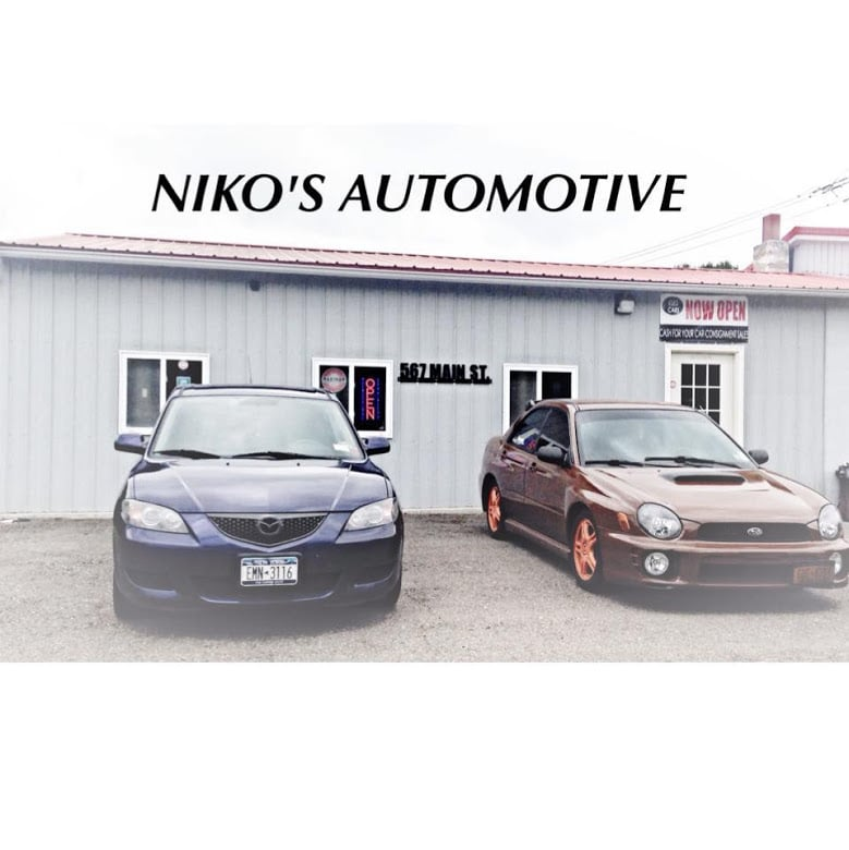 Niko's Automotive Sales & Detailing: 567 Main St, Apalachin, NY