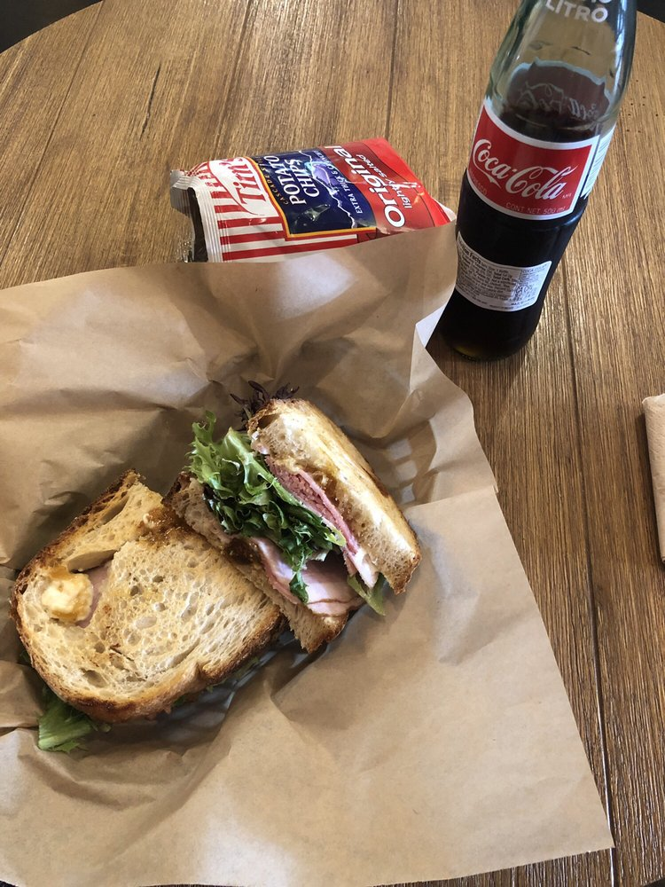 Food from Outpost Sandwiches