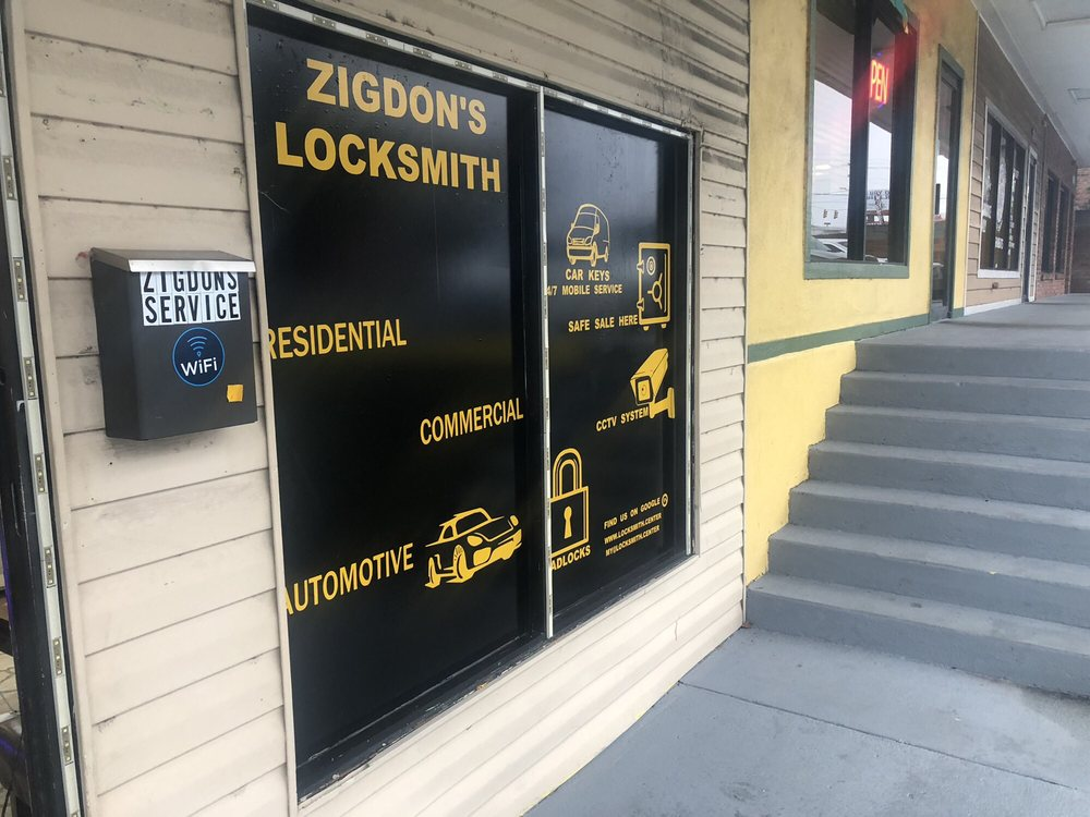 Zigdon's Locksmith Center: 2205-F Decker Blvd, Columbia, SC