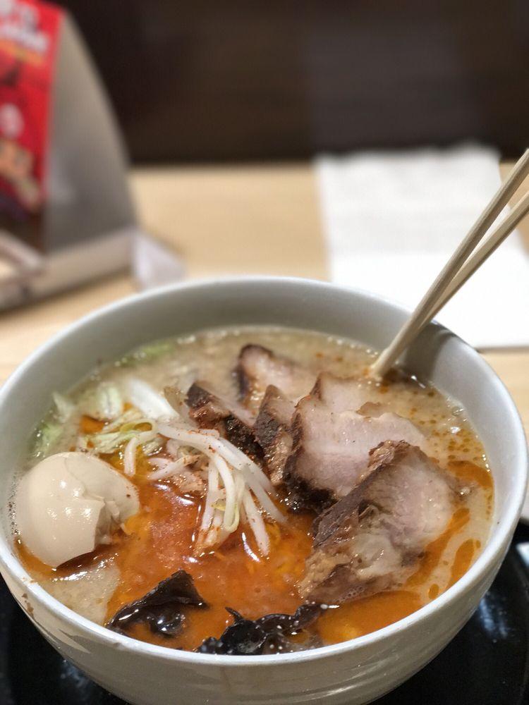 Food from Ramen Tatsunoya