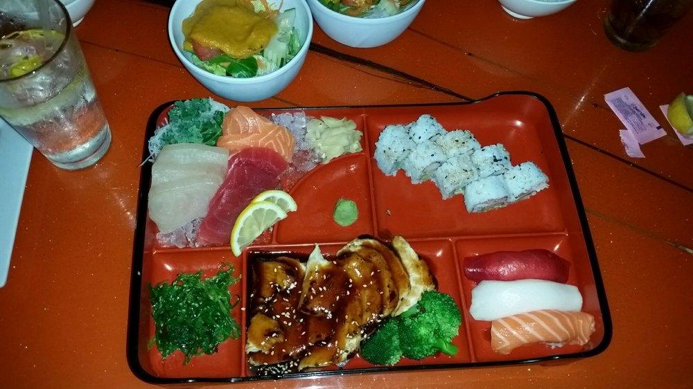 Food from Wasabi Thai Sushi