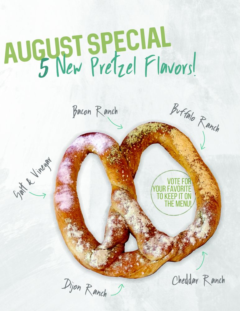 Perfect Twist Pretzels: 401 E Market St, Nappanee, IN