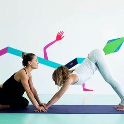 Yoga love порно