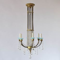 The big chandelier antiques 484 14th st nw westside home park photo of the big chandelier atlanta ga united states antique crystal chandelier aloadofball Image collections