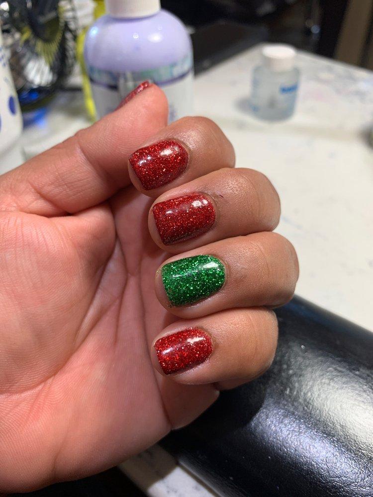 Aqua Nails Pedi Spa: 1205 N Velasco St, Angleton, TX
