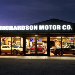 Richardson motor company motorcycle dealers 1291 e fry for Starmount motors south blvd