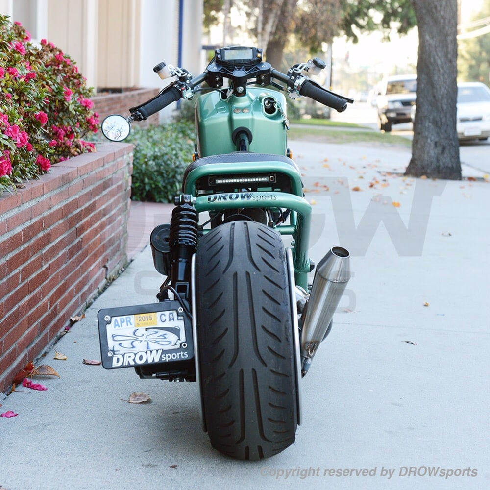Custom Build Honda Ruckus Gy6 Swap With A Fatty Wheel 13