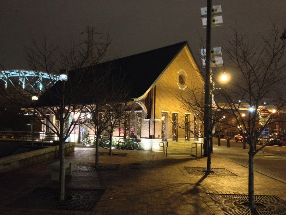 Nashville Music City Star Train Station