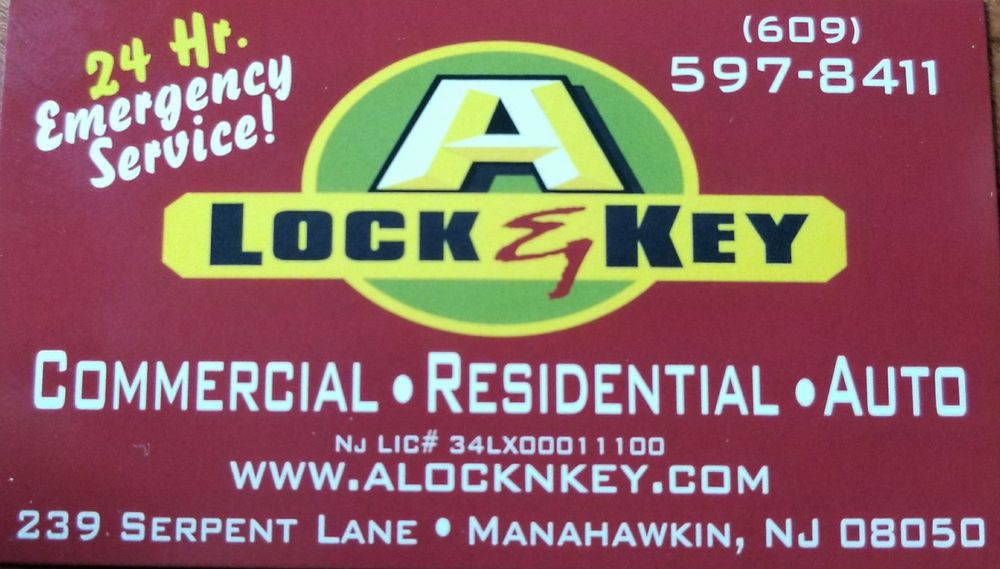 A Lock & Key: 239 Serpent Ln, Manahawkin, NJ