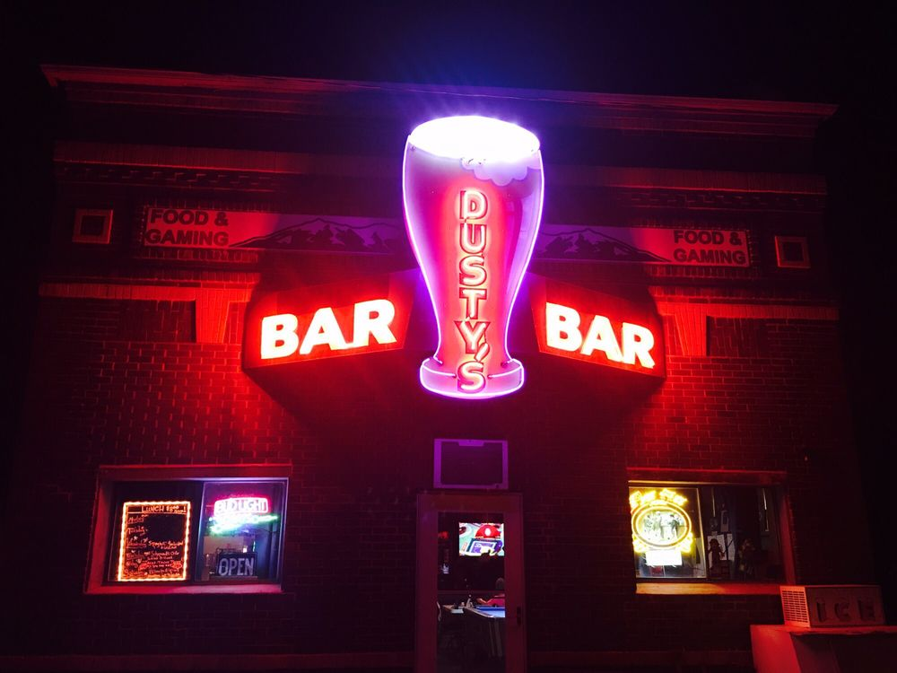 Dusty's Bar: 111 Central Ave E, Brady, MT