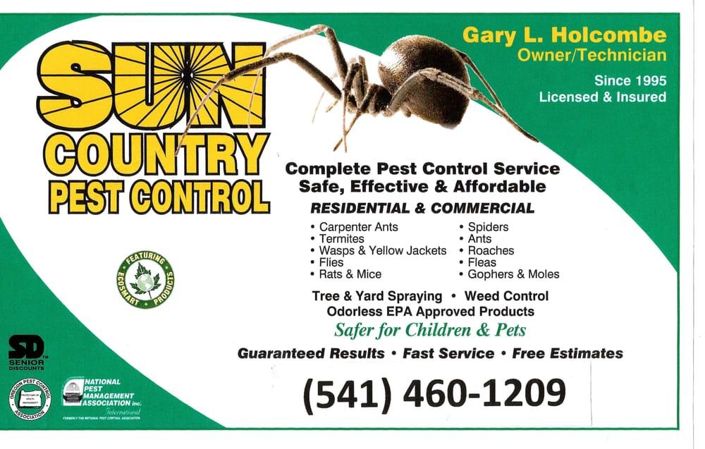 Sun Country Pest Control: Madras, OR