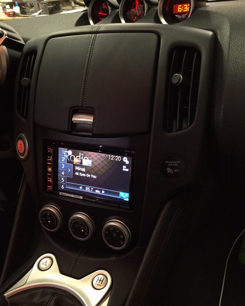 Nissan 370Z Pioneer Upgrade
