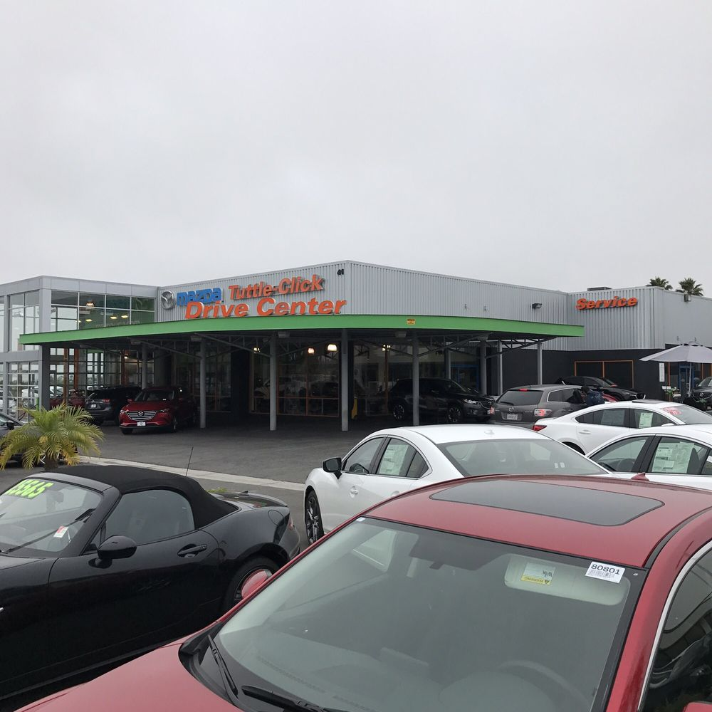 Tuttle Click Mazda >> Obligatory photo of the entrance to the dealer! - Yelp