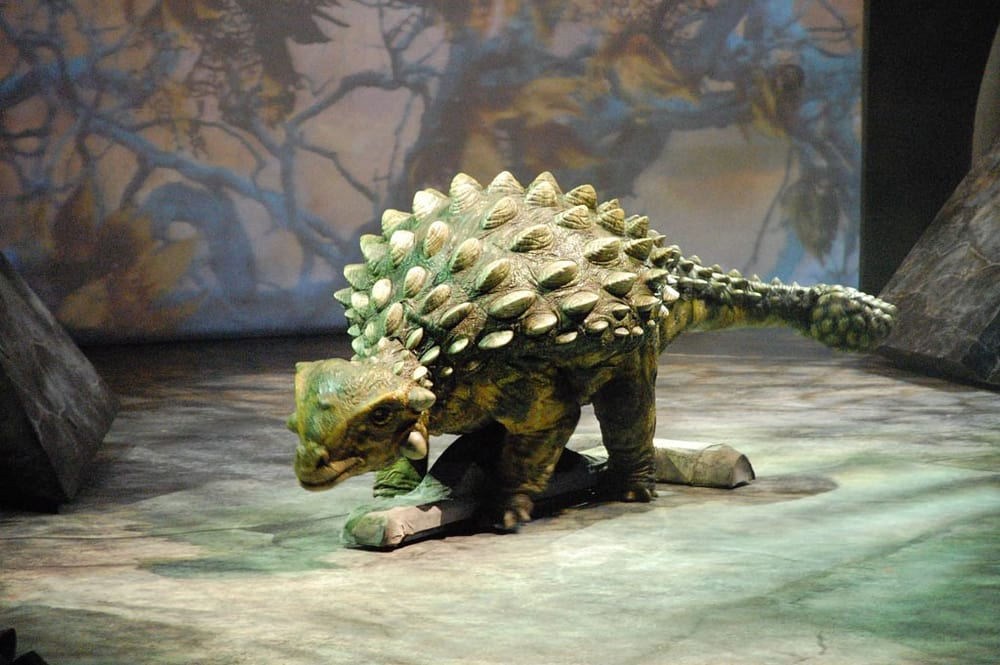 This Ankylosaurus has a VERY tough shell and a hard-as-a ...