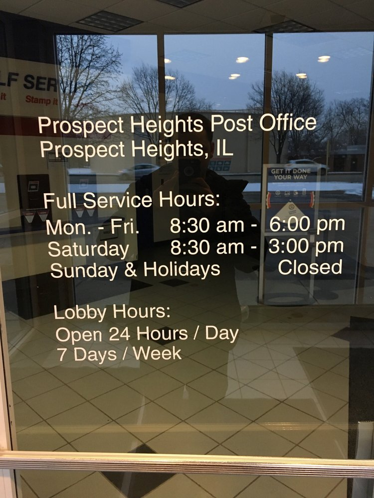 Us post office prospect heights 12 recensioner for 12 terrace road post office